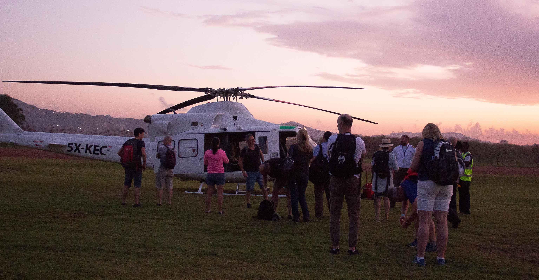 KEA flies over 200 international Tourists around Uganda