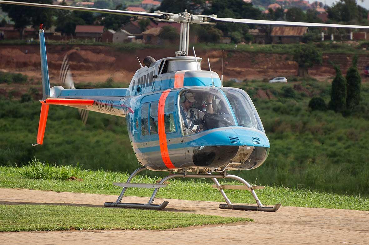 Bell 206 Jet Ranger - KEA Fleet
