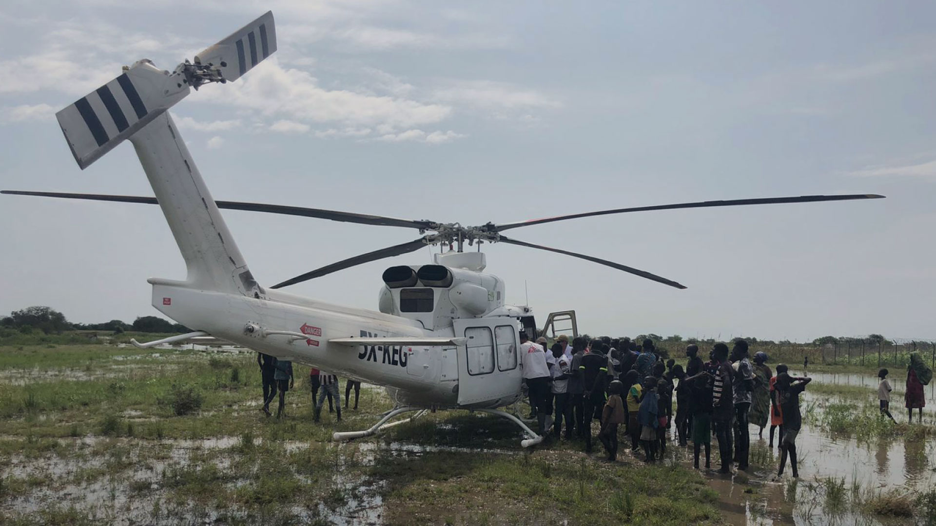 Disaster Relief for Floods in Pibor, Eastern South Sudan