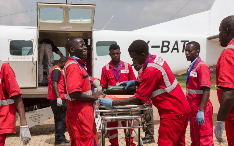 Air Ambulance Paramedics